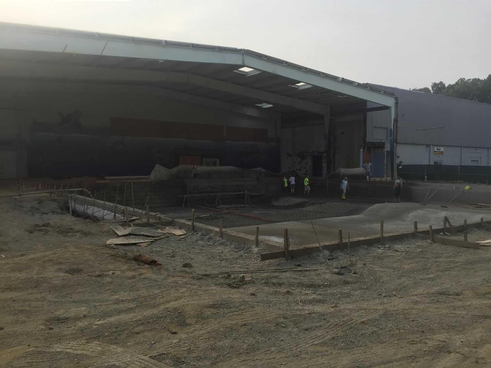 Competition Pool Construction : Nl aquatic center innovative aquatics